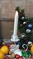 Подсвечник свадебный ПС-104 (под 1 свечу)