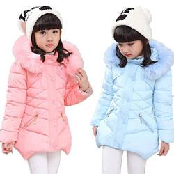 Куртки для девочек оптом