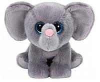 Мягкая игрушка Слоненок Whopper 15 см, Beanie Babies, TY