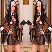 РАСПРОДАЖА Сексуальный ролевой костюм монашки