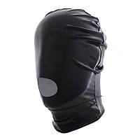 РАСПРОДАЖА Маска БДСМ виниловая черная, фото 1