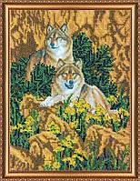 """Набор для вышивки бисером на натуральном художественном холсте """"Верность"""""""