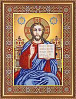 """Набор для вышивки бисером на натуральном художественном холсте """"Венчальная пара Иисус"""""""
