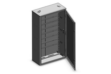 Шкафы электротехнические с монтажной рамой: применение и разновидности