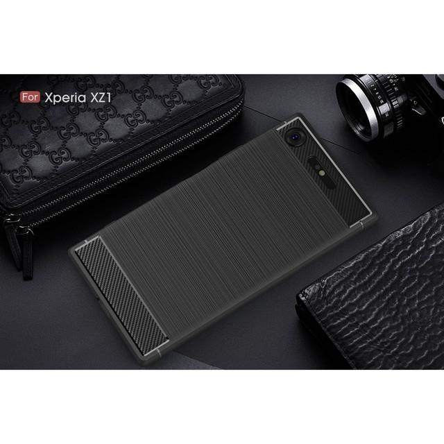 чехол накладка Sony Xperia XZ1 G8342 черный