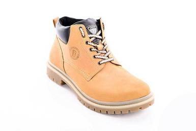 Мужские зимние желтые ботинки Bastion - Overslush, Yellow