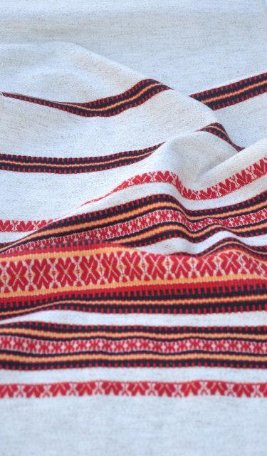 Ткань на плахту с украинской вышивкой Сувенирная ТДК-16 1/2
