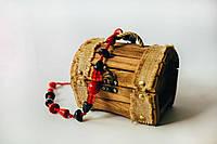 Сундучок деревяний