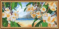 """Набор для вышивки бисером на натуральном художественном холсте """"Гавайский бриз"""""""