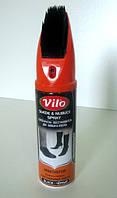 Краска-аэрозоль Vilo (восстановитель для замши и нубука). Цвет-Черный.