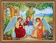 """Набор для вышивки бисером на натуральном художественном холсте """"Святая троица"""""""