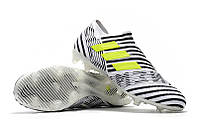 Футбольные бутсы adidas Nemeziz 17+ 360 Agility FG White/Solar Yellow/Core Black, фото 1