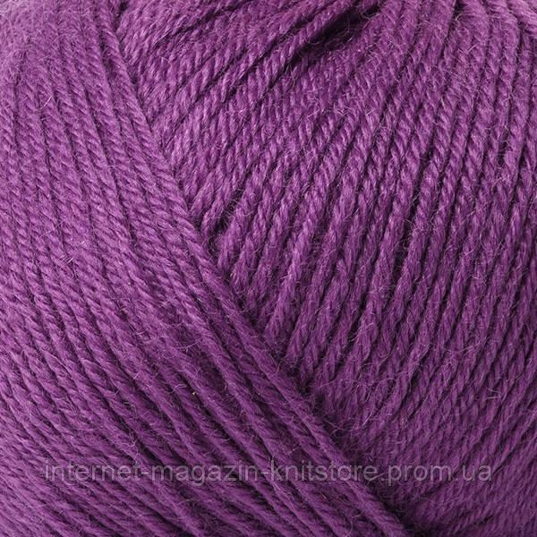 Пряжа Mondial Mondial Merinos Extra ярко-фиолетовый