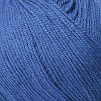Пряжа Mondial Merinos Extra  насыщенный синий