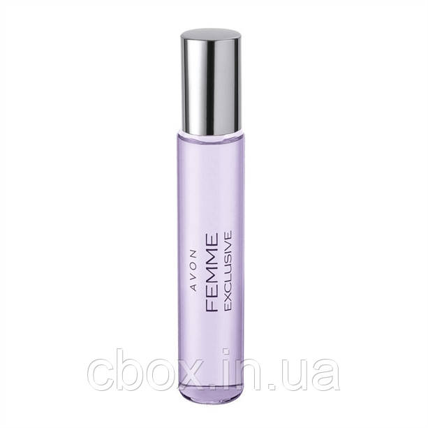Парфюмерная вода женская Femme Exclusive, Avon, Эйвон Фэм Эксклюзив, 61485, спрей, мини духи 10 мл