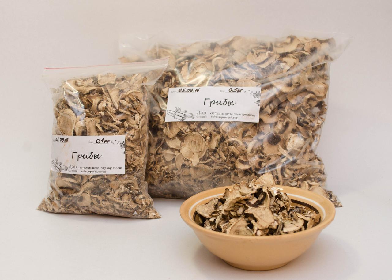 Сушеные грибы шампиньоны