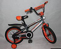 """Детский велосипед Crosser  Sports 16"""" (с родительской ручкой)"""