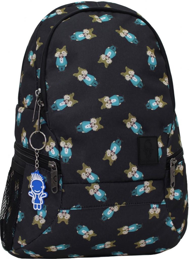 Рюкзак  молодежный Bagland городской на 20 л. Бурундучки.