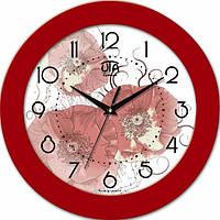 Настенные Часы Fashion Маки Red