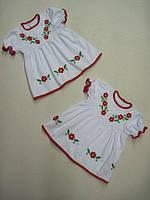 Платье крестильное с вышивкой УТ