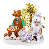 Карнавальный костюм Зайка для девочки | Костюм кролик девочкам