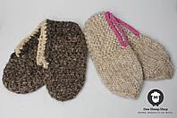 Шерстяные пинетки, вязаные шерстяные пинетки ручной работы, фото 1