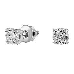 Сережки зі срібла з куб. цирконіями 177493