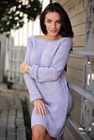 Очень красивое и удобное вязаное платье (норма)