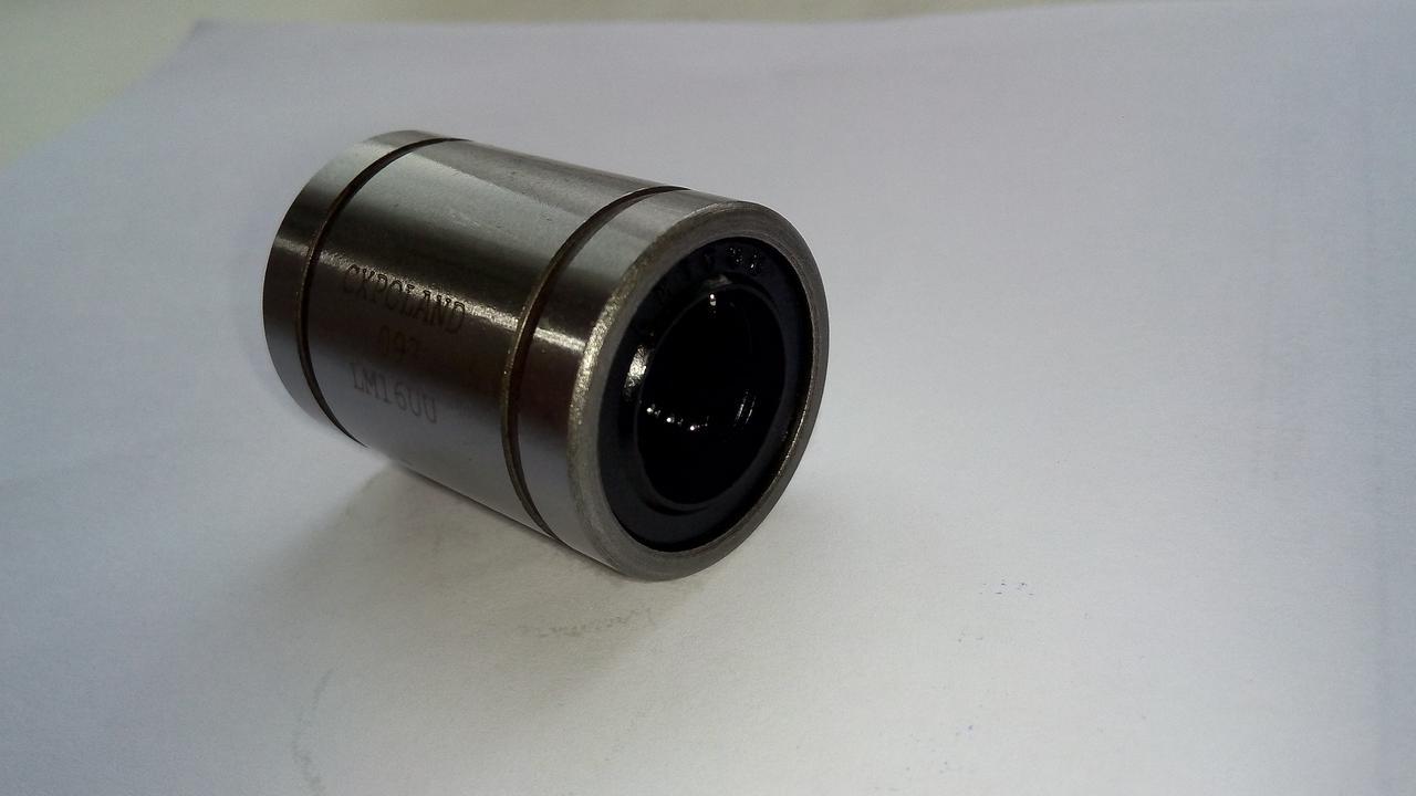 Втулка шариковая КВ1232 UU (LME 12 UU) (подшипник линейного перемещения)