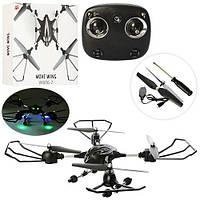 Квадрокоптер W606-2 (4шт) р/у2,4G,аккум,USBзарядное,свет,зап.лопасти,в кор-ке,47-47-10,5см