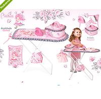 Детская гладильная доска, утюг, сумочка DeCuevas 53417