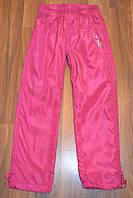 Балоневые утеплённые штаны на флисе для девочек подростков размеры 134-164 см.Фирма TAURUS.Венгрия