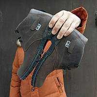 Мужские зимние ботинки CAT Caterpellar НА МЕХУ в наличии. Размер 42-45