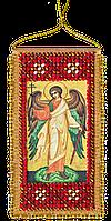 """Набор для вышивки бисером на натуральном художественном холсте """"Молитва Ангелу-хранителю"""" (укр.язык)"""