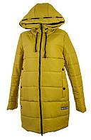 Женская зимняя куртка длинная