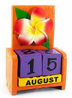 Вечный Календарь Цветок Orange