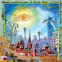 Схема для вышивки бисером на натуральном художественном холсте Хранитель снов