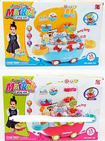"""Детский магазин-чемодан """"Мороженое"""" со светом и звуком и USB входом 668-43-44"""