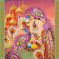 Схема для вышивки бисером на натуральном художественном холсте Пасхальный сюжет3