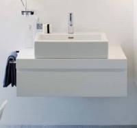CASE шкаф 895*520*230/450 мм, с компактным сифоном, белая