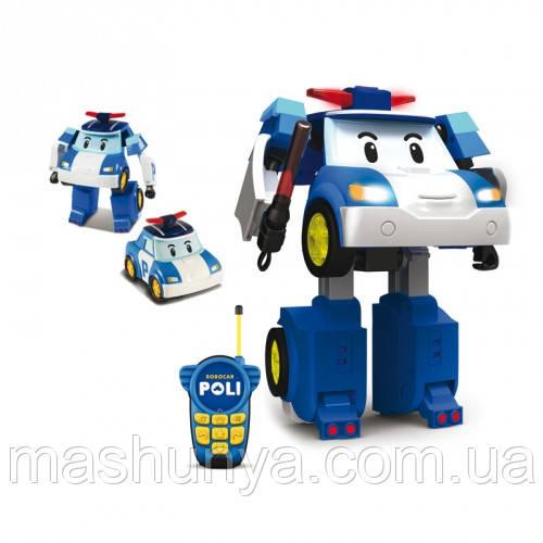 Robocar Poli Трансформер Поли с пультом управления 83185