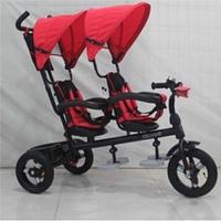 Детский трехколесный велосипед для двойни Crosser Twins
