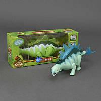 Динозавр XZ 503 (36/2) подсветка, ходит, 2 вида, на батарейке, в коробке