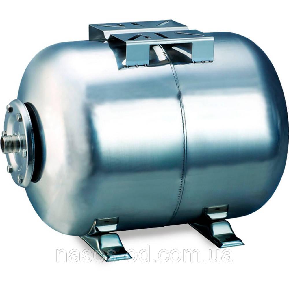 Гидроаккумулятор для воды Aquatica горизонтальный 24л (нерж, разборной)