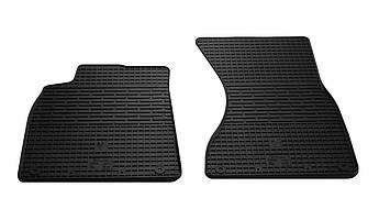 Коврики в салон резиновые передние для Audi A6 C7 2011- Stingray (2шт)