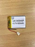 Внутренний Аккумулятор 3.8*30*41 (600 mAh 3,7V) 043040P AAA класс в Запорожье