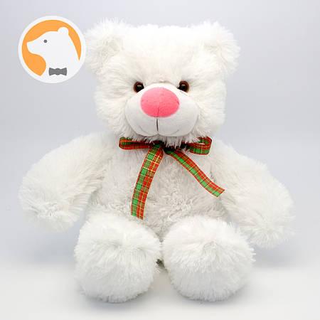 Плюшевый медвежонок Малыш белый, 30 см