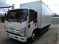 Автомобиль ISUZU NQR 90 промтоварный фургон