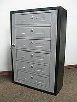 Ящик почтовый многосекционный ЯП-06