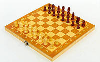 Набор (шахматы, шашки, нарды) CHE TREE 24х24 W7721